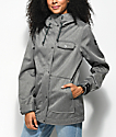 Empyre Karli Charcoal Softshell Jacket