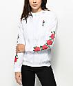 Empyre Keana Rose White Windbreaker Jacket