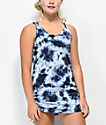 Empyre Kipling Blue Tie Dye Swim Cover Up