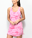 Empyre Kipling Pink Tie Dye Swim Cover-Up