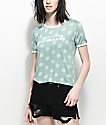 Empyre Knoxville Daydreams camiseta ringer en verde