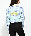 Empyre Kode camiseta de manga larga con efecto tie dye