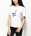 Empyre Kym Never Ever Airbrushed Rose White T-Shirt
