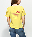 Empyre Kym Rose camiseta amarilla
