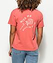 Empyre Kymmie Miss Me Rose camiseta con bolsillo