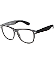 Empyre Lenny Black Clear Lens Sunglasses