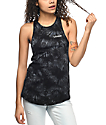 Empyre Merilee Black Tie Dye Whatever Tank Top