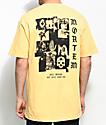 Empyre Mortem camiseta en color amarillo