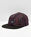 Empyre Notorious Black Retro Strapback Hat