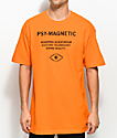 Empyre Psy-Magnetic camiseta en color naranja