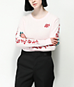Empyre Rubino Rose Pink Long Sleeve T-Shirt