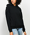 Empyre Shay Black Lace Up Hoodie