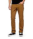 Empyre Skeletor jeans ceñidos caqui oscuro