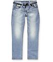Empyre Skeletor jeans skinny lavado medio desgarrón