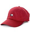 Empyre Solstice gorra de béisbol borgoña elefante
