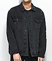 Empyre Ticket chaqueta negra de mezclilla