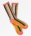 Empyre Vertical Striped Multicolor Crew Socks