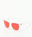 Empyre Vice Basic gafas de sol transparentes y rojos