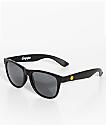 Empyre Vice gafas de sol en negro mate con caras sonrientes