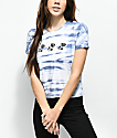 Empyre Yohanna Roses Blue Tie Dye T-Shirt