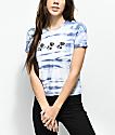 Empyre Yohanna Roses camiseta azul con efecto tie dye