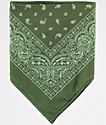 Empyre bandana de cachemir oliva