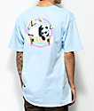 Enjoi 80s Panda camiseta en azul claro