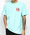 Enjoi Panda Love Celadon camiseta