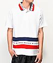Ethik Club camiseta polo en blanco