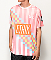 Ethik Premier camiseta rosa de fútbol