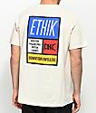 Ethik Primary Blocks Cream T-Shirt