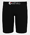 Ethika Blackout Black Boxer Briefs