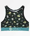 Ethika Camo Paradise High Neck Sports Bra