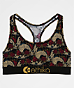 Ethika Dragon Rose Sports Bra