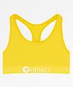 Ethika Retro sujetador deportivo amarillo