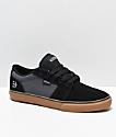 Etnies Barge LS zapatos de skate en negro, gris y goma