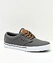 Etnies Jameson 2 Eco Grey & Brown Skate Shoes