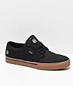 Etnies Jameson 2 Eco zapatos de skate en negro, goma y plateado