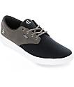 Etnies Jameson SC Grey & Navy Canvas Shoes