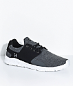 Etnies Scout XT Black, Grey & Heather Silver Shoes