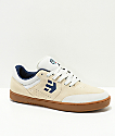 Etnies x Happy Hour Marana Tancowny White & Gum Skate Shoes