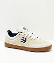 Etnies x Happy Hour Marana Tancowny zapatos de skate en blanco y goma