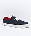 Etnies x Sheep Jameson Vulc Navy Skate Shoes
