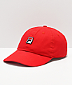 FILA Chinese Red Strapback Hat