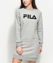 FILA Courtney Grey Sweater Dress