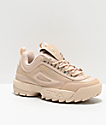 FILA Disruptor II All Taupe Shoes