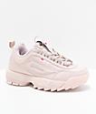 FILA Disruptor II zapatos rosas