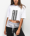 FILA Domenica White Crop T-Shirt
