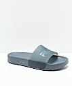 FILA Drifter Molded Black & Castle Rock Slide Sandals