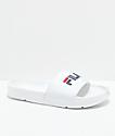 FILA Drifter sandalias blancas para mujeres